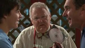 Zeke Kinski, Harold Bishop, Karl Kennedy in Neighbours Episode 5333