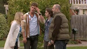 Janae Hoyland, Ned Parker, Riley Parker, Steve Parker in Neighbours Episode 5335
