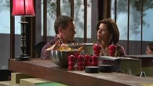 Paul Robinson, Rebecca Napier in Neighbours Episode 5335