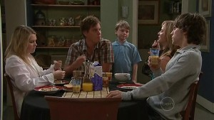 Janae Timmins, Ned Parker, Mickey Gannon, Miranda Parker, Riley Parker in Neighbours Episode 5344