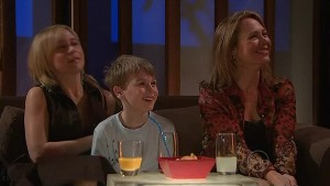 Kirsten Gannon, Mickey Gannon, Miranda Parker in Neighbours Episode 5344