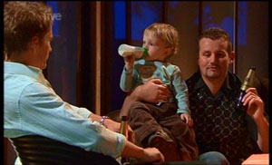 Dan Fitzgerald, Charlie Hoyland, Toadie Rebecchi in Neighbours Episode 5362