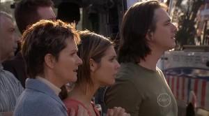 Susan Kennedy, Rachel Kinski, Darren Stark in Neighbours Episode 5367