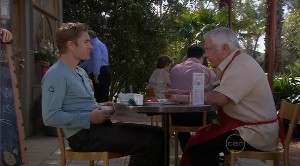 Dan Fitzgerald, Lou Carpenter in Neighbours Episode 5373