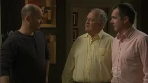 Steve Parker, Harold Bishop, Karl Kennedy in Neighbours Episode 5409
