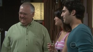 Harold Bishop, Carmella Cammeniti, Marco Silvani in Neighbours Episode 5410