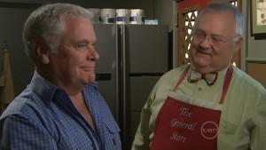 Lou Carpenter, Harold Bishop in Neighbours Episode 5411