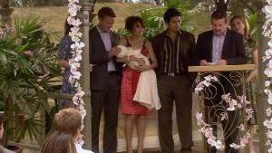 Oliver Barnes, Carmella Cammeniti, Chloe Cammeniti, Marco Silvani, Toadie Rebecchi in Neighbours Episode 5411