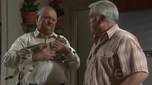 Harold Bishop, Lou Carpenter in Neighbours Episode 5411