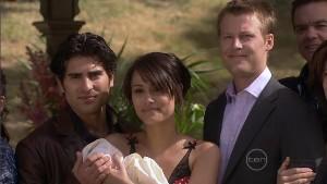 Marco Silvani, Carmella Cammeniti, Chloe Cammeniti, Oliver Barnes in Neighbours Episode 5412