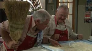 Lou Carpenter, Harold Bishop in Neighbours Episode 5412