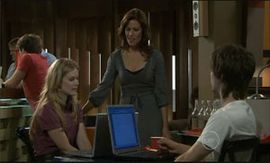 Elle Robinson, Rebecca Napier, Riley Parker in Neighbours Episode 5429