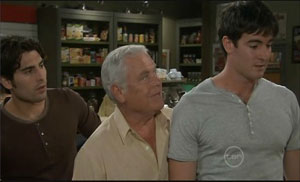 Marco Silvani, Lou Carpenter, Frazer Yeats in Neighbours Episode 5429