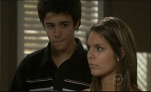 Zeke Kinski, Rachel Kinski in Neighbours Episode 5429