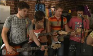 Declan Napier, Bridget Parker, Ringo Brown, Zeke Kinski in Neighbours Episode 5429
