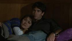 Rosie Cammeniti, Frazer Yeats in Neighbours Episode 5431