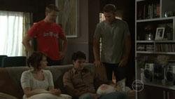Rosie Cammeniti, Oliver Barnes, Frazer Yeats, Dan Fitzgerald in Neighbours Episode 5431