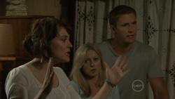 Rosie Cammeniti, Samantha Fitzgerald, Dan Fitzgerald in Neighbours Episode 5431