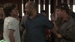 Riley Parker, Steve Parker, John Carter in Neighbours Episode 5432