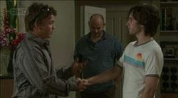 John Carter, Steve Parker, Riley Parker in Neighbours Episode 5433