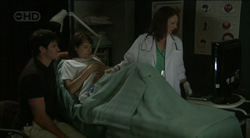Frazer Yeats, Rosie Cammeniti, Dr Veronica Olenski in Neighbours Episode 5433
