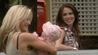 Samantha Fitzgerald, Chloe Cammeniti, Libby Kennedy in Neighbours Episode 5450