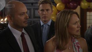 Steve Parker, Dan Fitzgerald, Miranda Parker in Neighbours Episode 5457