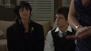 Taylah Jordan, Zeke Kinski in Neighbours Episode 5457