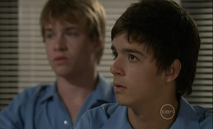 Ringo Brown, Zeke Kinski in Neighbours Episode 5477