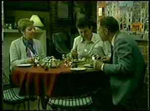 Eileen Clarke, Des Clarke, George Young in Neighbours Episode 0123
