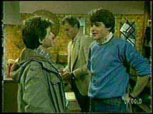 Danny Ramsay, Jim Robinson, Scott Robinson in Neighbours Episode 0124