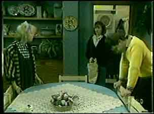 Terry Inglis, Julie Robinson, Paul Robinson in Neighbours Episode 0125