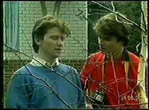 Danny Ramsay, Scott Robinson in Neighbours Episode 0126