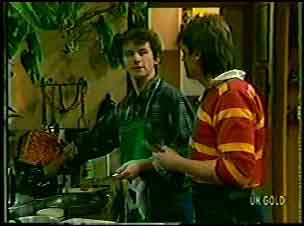 Danny Ramsay, Shane Ramsay in Neighbours Episode 0132