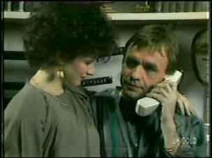 Barbara Hill, Charles Durham in Neighbours Episode 0133