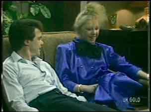 Paul Robinson, Terry Inglis in Neighbours Episode 0136