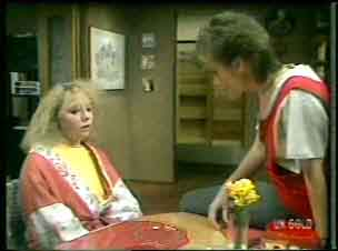Terry Inglis, Daphne Clarke in Neighbours Episode 0137