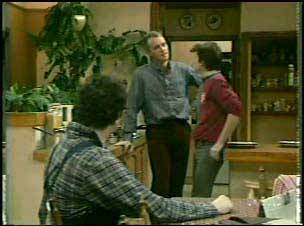 Max Ramsay, Jim Robinson, Danny Ramsay in Neighbours Episode 0138