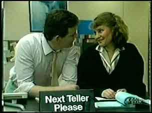 Des Clarke, Julie Robinson in Neighbours Episode 0139