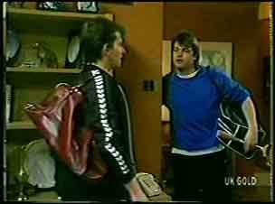 Danny Ramsay, Shane Ramsay in Neighbours Episode 0139