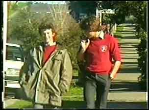 Danny Ramsay, Scott Robinson in Neighbours Episode 0140