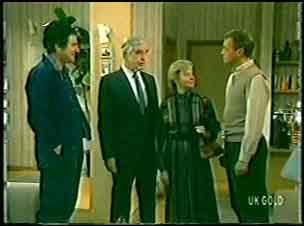 Max Ramsay, Douglas Blake, Helen Daniels, Jim Robinson in Neighbours Episode 0140
