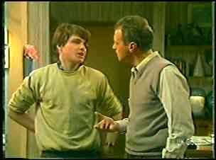 Scott Robinson, Jim Robinson in Neighbours Episode 0141