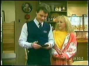 Paul Robinson, Terry Inglis in Neighbours Episode 0144