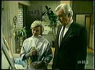 Helen Daniels, Douglas Blake in Neighbours Episode 0145