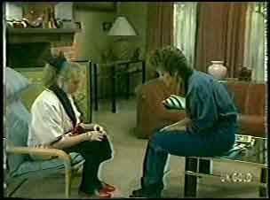 Terry Inglis, Daphne Clarke in Neighbours Episode 0145