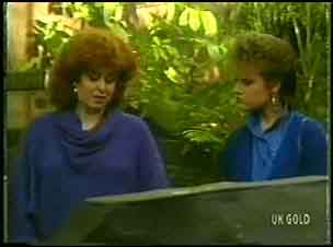 Audrey Gibbs, Daphne Clarke in Neighbours Episode 0149