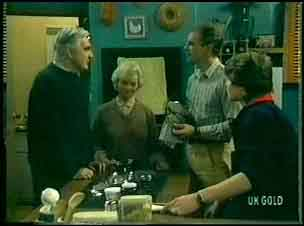Douglas Blake, Helen Daniels, Jim Robinson, Scott Robinson in Neighbours Episode 0149