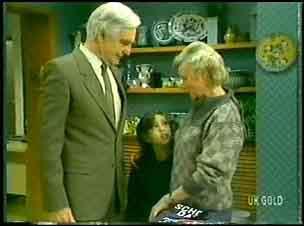 Douglas Blake, Lucy Robinson, Helen Daniels in Neighbours Episode 0150