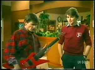 Danny Ramsay, Scott Robinson in Neighbours Episode 0150